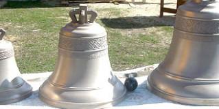 Освящение креста, купола и колоколов Храма Тихона Задонского